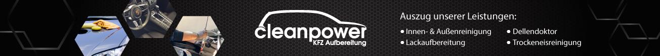 Cleanpower Kfz-Aufbereitung